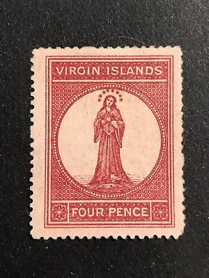 British Virgin Islands Scott #5 (SG#15) mint no gum CV £55