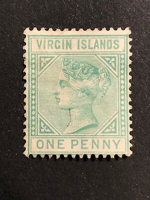 British Virgin Islands Scott #10 (SG#24) mint gum disturbed CV £75