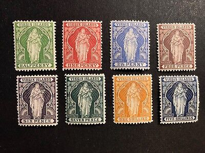 British Virgin Islands Scott #21-28 (SG#43-50) mint OG CV £130