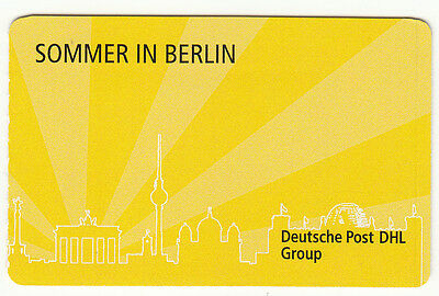 "BRD 5x PORTOCARD ""Sommer in Berlin"", Marke individuell 45 + 70 **"