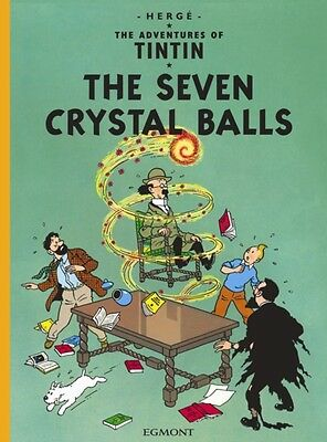 The Seven Crystal Balls (The Adventures of Tintin) (Paperback), H. 9781405206242