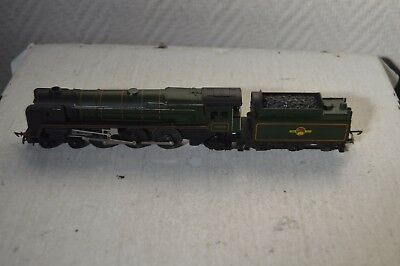 Locomotive Tri-Ang Triang Train Britannia 70000 Tenderlok Loco British Railway