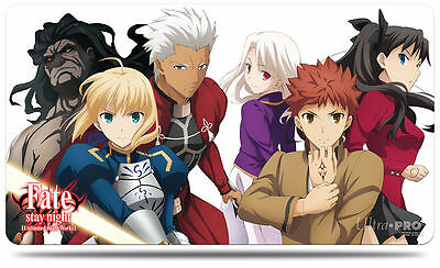 Ultra Pro Fate/stay Night Playmat - Collection 1, Group *brand New In Package*