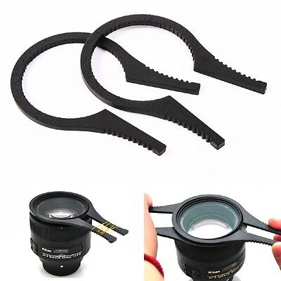 49-58 mm 2pc Lens Filter Wrench Removal Tools Spanner Pliers 49mm 52mm 55mm 58mm