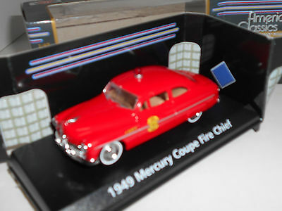 Mercury Coupe Fire Chief 1949 Motor Max 1:43