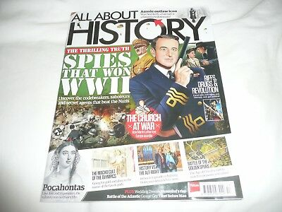 issue 53  of  ALL ABOUT HISTORY magazine SPIES THAT WON WWII  cover