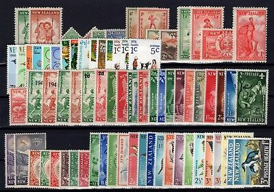 P38743/ New Zealand / Semi Postal / Lot 1936 – 1977 Neufs * / Mh 90 €