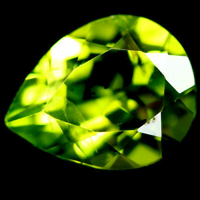 2.24 Ct Natural! Green Pakistan Peridot Pear