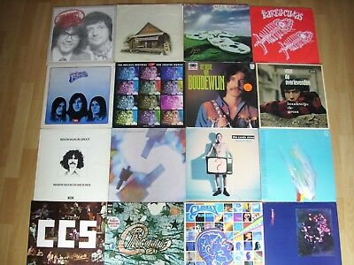77 LP'S + 3 EP'S  + ROCK + INDIE + JAZZ etc + LISTE