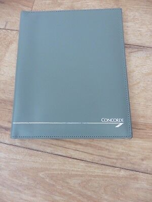 Superb quality Concorde calf leather, English made writing case in great condtn