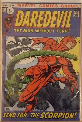 DAREDEVIL # 82 and # 83 ( 1st Series- Pence copies  - 1972/1973) VG+/FN+ Scarce