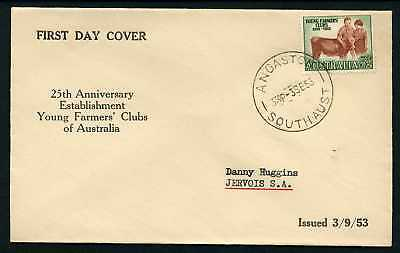 Australia 1953 Young Farmers - FDC
