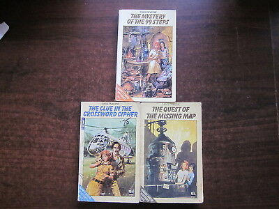 3 x NANCY DREW Books Carolyn Keene #2,5,6 Vintage Matching Armada Paperbacks