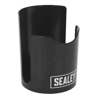 1x Sealey Black Magnetic Cup/Can Holder - APCHB