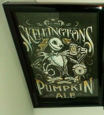 nightmare before christmas picture with frame
