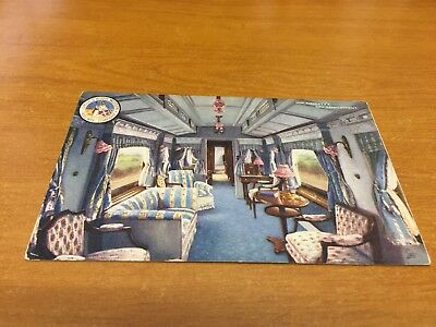 L.N.W.R. Postcard Her Majesty's Day Compartment (Used)