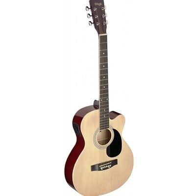 Stagg Auditorium Electro-Acoustic Guitar - Natural