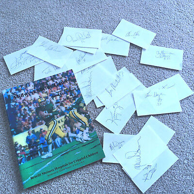 Aug 15 1981 Game Program Green Bay Packers V Raiders SHRINE GAME LOTS Autographs