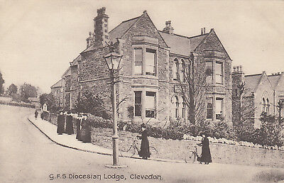 Unused postcard ~ Girls' Friendly Society Diocesian ( Diocesan ) Lodge Clevedon