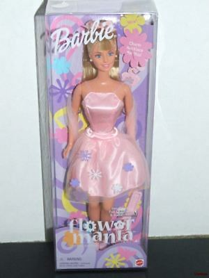 NEW Barbie Flower Mania Doll with Charm Necklace Special Edition