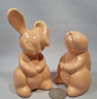 Vintage Rabbits S&P Shakers