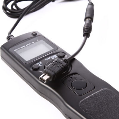 Timer Remote With Removable Cable Cord For Nikon D7500 D5600 D5500 D7200 Camera