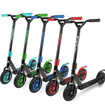 DIRT SCOOTER All Terrain mountain push kids jump fixed bar off road stunt by TBF