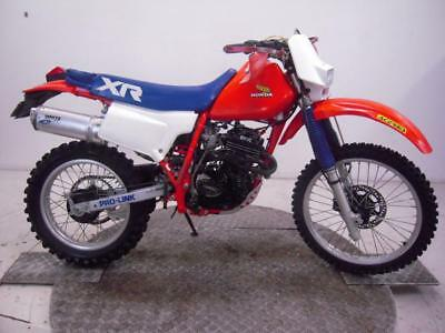1985 Honda XR250R Enduro Unregistered US Import Barn Find Classic Restoration