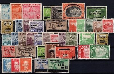 P42500/ Philippines / Japanese Occ – 1942 / 1944 Lot Neuf * / Mint Mh 115 €