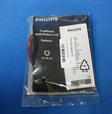 Philips Pediatric Blood Pressure Cuff Reusable Single Tube Bayonet 40401B