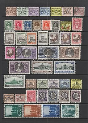 Vatican 1929- 1945 collection , 75 stamps , MH or fine used
