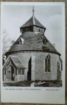 The Round Church Little Maplestead Essex Postcard