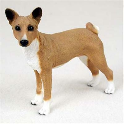 Basenji Dog Hand Painted Collectable Figurine Statue