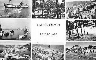 44 Carte Photo Saint-Brevin Cote De Jade Multivues
