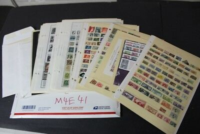 CKStamps : Large Unchecked Mint & Used Spain & Colonies Stamps Collection Pages