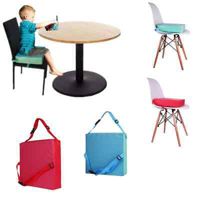 Portable Baby Kids Children Dining Chair Booster  Seats Detachable Cushion Pad