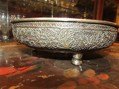 Antique Cut Sterling Silver Extreme Orient China Stamped