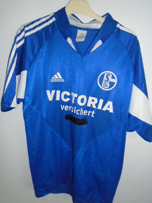 Schalke 04 2004 home  shirt Medium