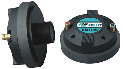 Pyle PDS122 Compression Driver Tweeter Pro Audio Speaker Replacement DJ Disco