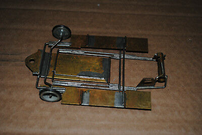 Brass Chassis   1/24Th Nos Front Wheels