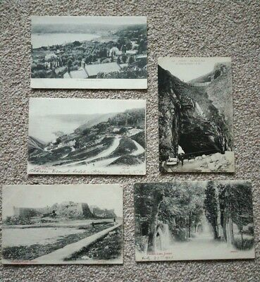 5  X JERSEY early postcards, 4 posted 1903