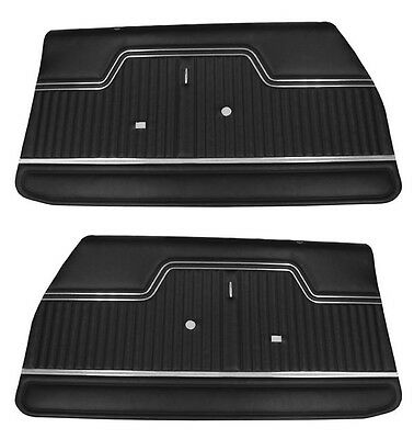 1970 1971 1972 El Camino Preassembled Front Door Panels