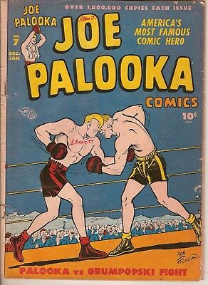 Joe Palooka Comic Book Vol 2 # 7  Harvey Dec/Jan 1946-47 1st Flyin' Fool Fair/G