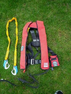 Crewsaver Crewsafe Automatic Life Jacket 150N In Excellent used condition Saego