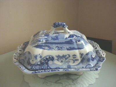 Spode Blue & White Italian Lidded Tureen