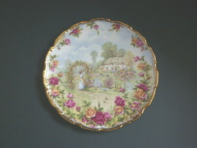Royal Albert Celebration Of Old Country Roses Garden Plate