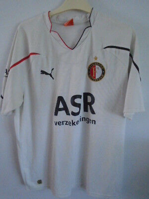 Feyenoord 2010 2011 Away Shirt XLarge