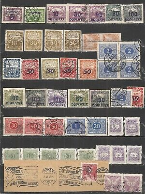 Czechoslovakia  nice  COLLECTION old used stamps