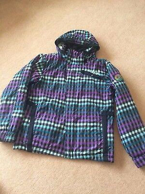Ladies Billabong Ski Snowboard Jacket Size M 12-14  Good Condition