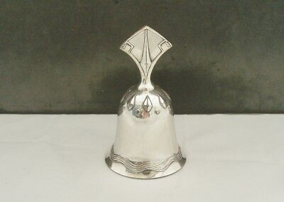 WMF SILVER PLATED ART NOUVEAU SECESSIONIST TABLE BELL c1910